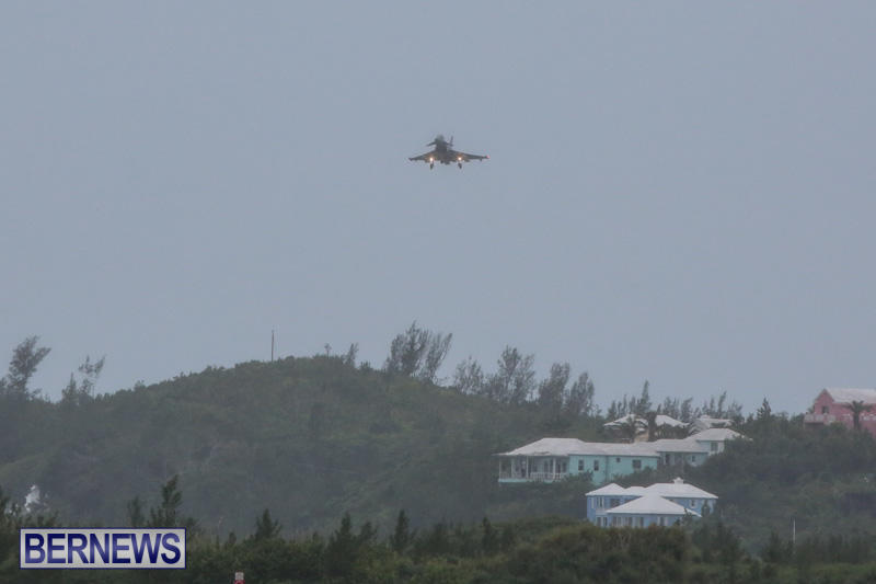 Royal-Air-Force-RAF-Typhoon-A330-200-Voyager-Bermuda-January-6-2015-8