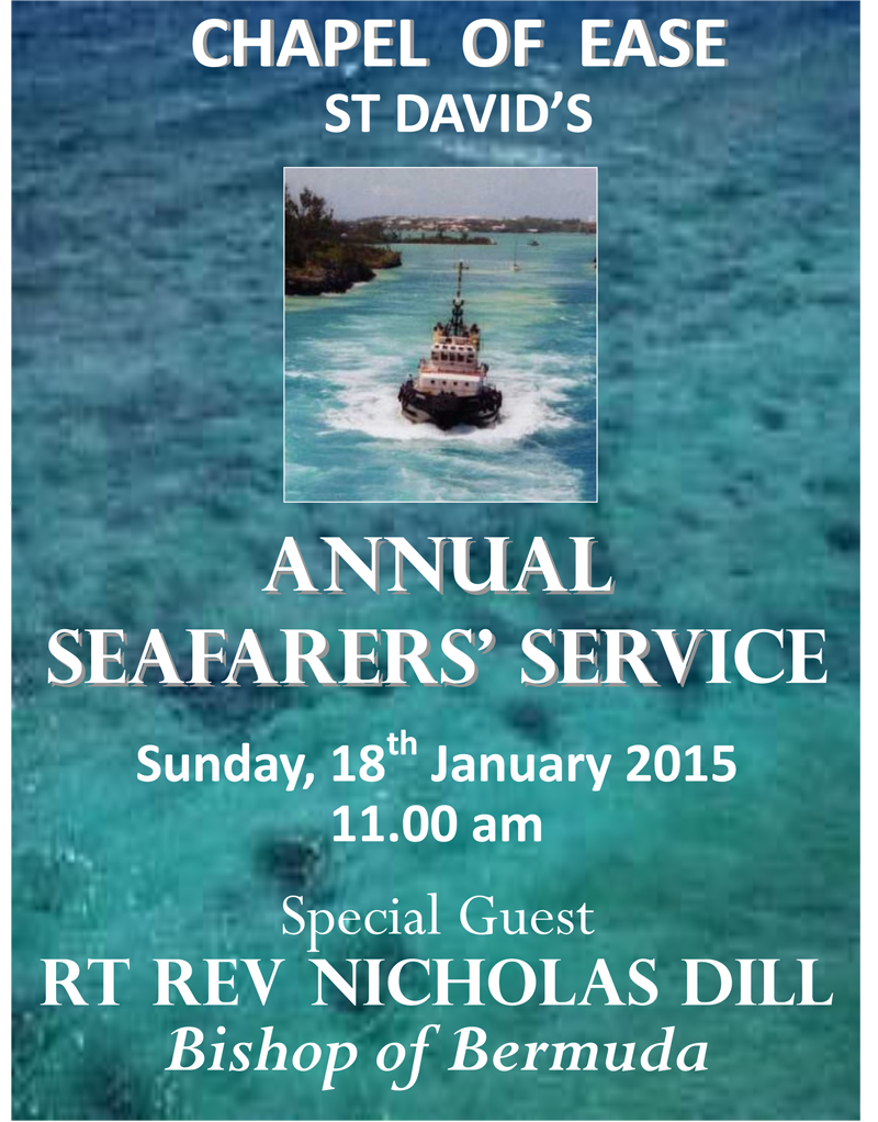 Seafarers Service 2015 Poster