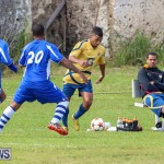 St David's vs Young Men Social Club Football Bermuda, January 11 2015-1