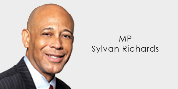 MP Sylvan Richards banner