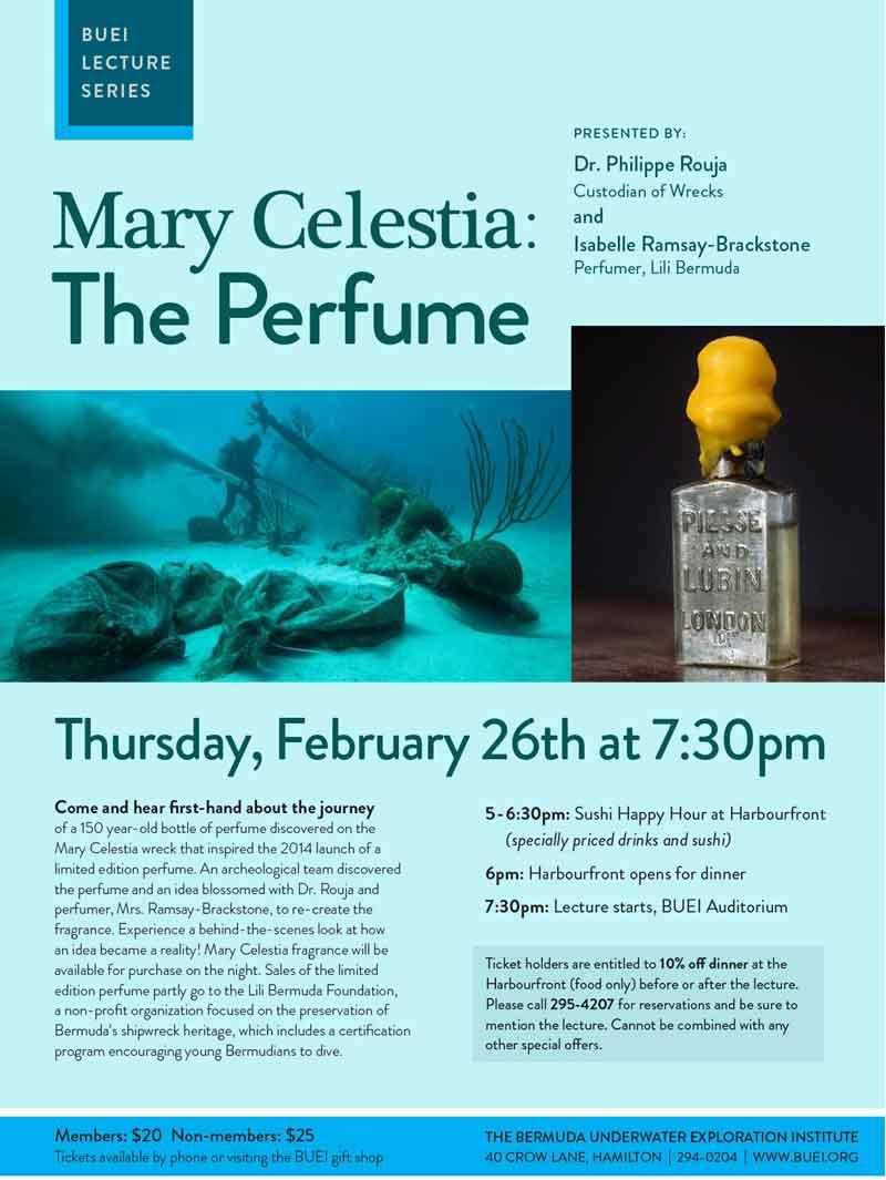 Mary Celestia Perfume Lecture