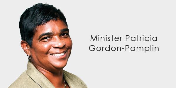 Minister Patricia Gordon-Pamplin banner