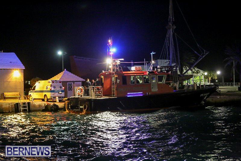 Ship Aargau Medical Transfer Bermuda, February 2 2015-1
