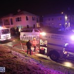 St George's House Fire Bermuda, February 25 2015-1