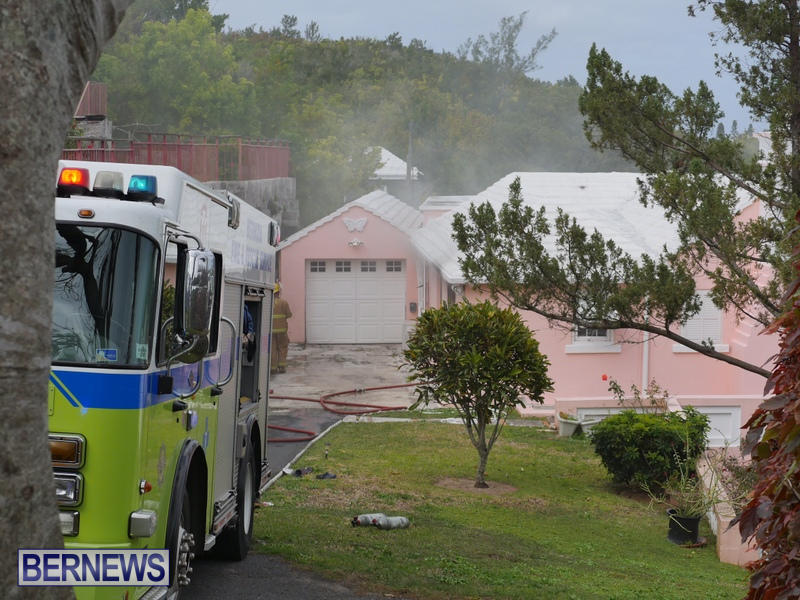 Woodlawn Road Fire Bermuda, February 12 2015 (4)