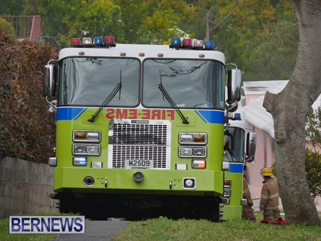 Woodlawn Road Fire Bermuda, February 12 2015 (5)