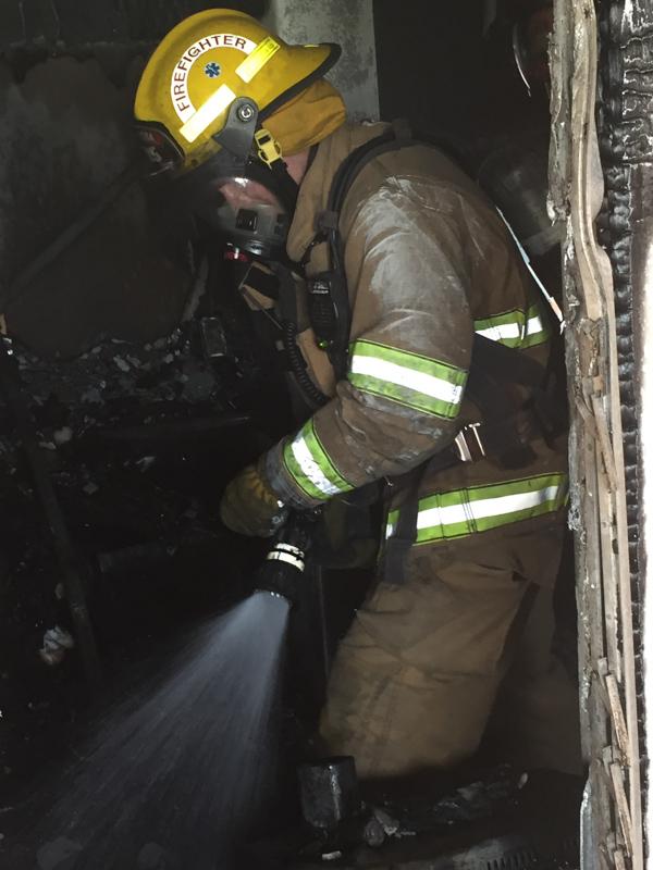 Woodlawn Road House Fire Bermuda, February 12 2015-1