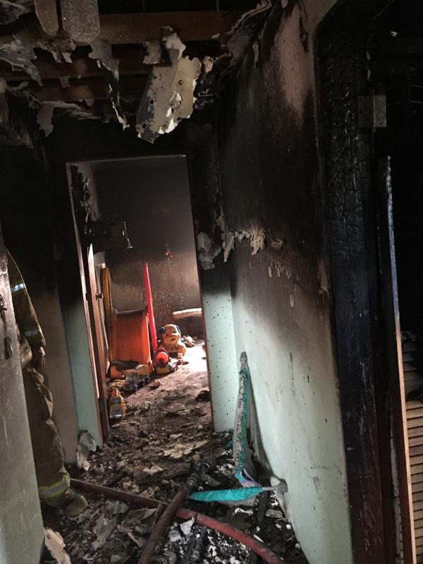 Woodlawn Road House Fire Bermuda, February 12 2015-5