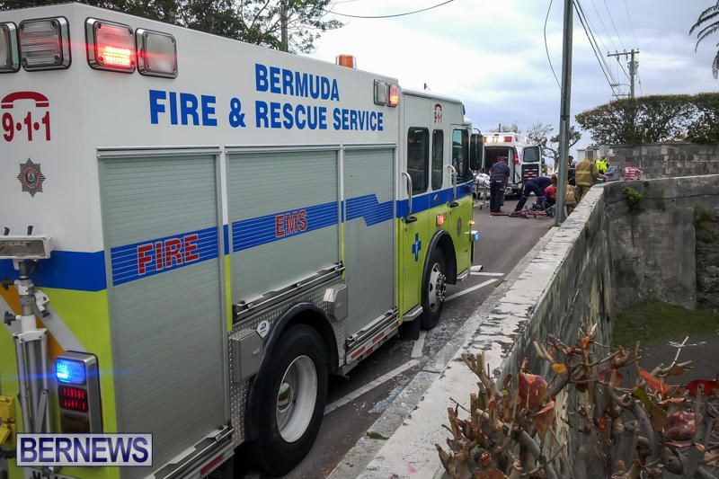 Accident Berkeley Road Bermuda, March 15 2015 (1)