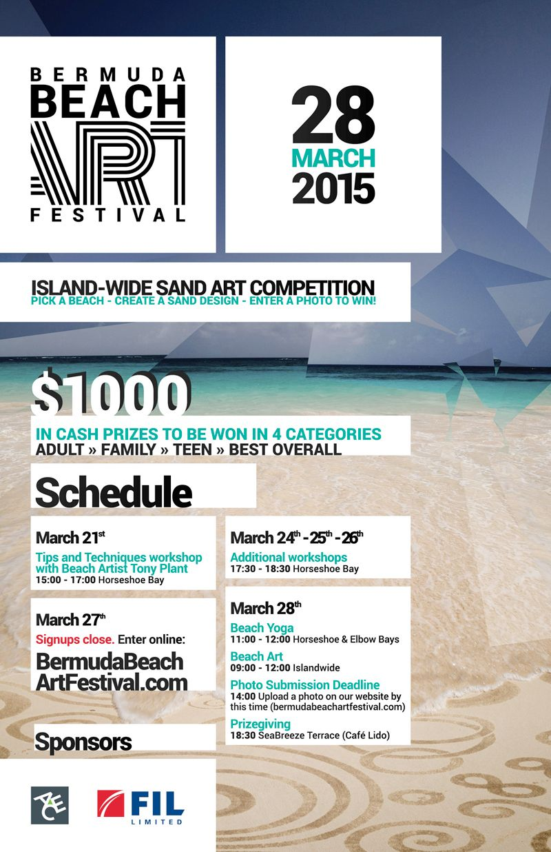 Bermuda Beach Art Festival 2015-Poster-F-compressed