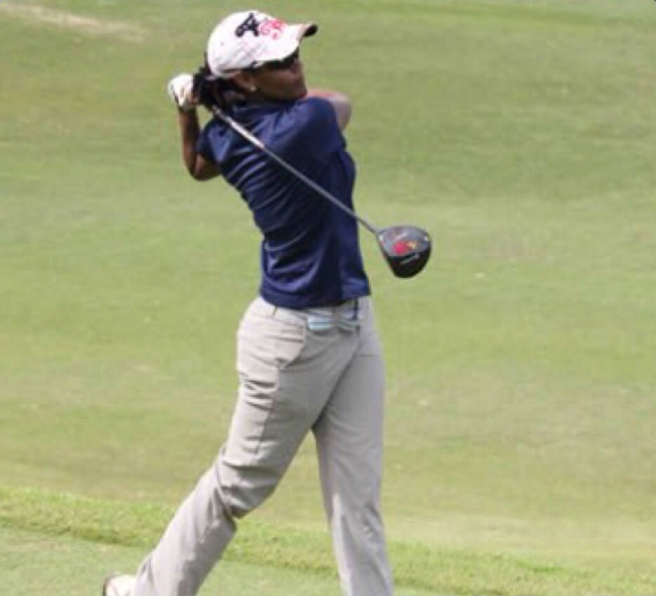 Talented Bermudian golfer Ebonie Burgess has signed on to lead the CP ...