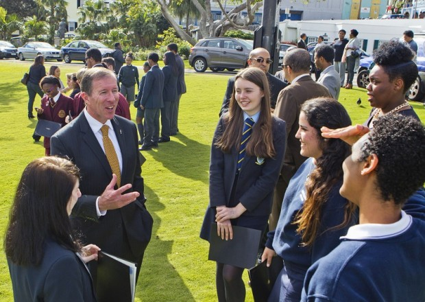March 2015 students UN bermuda (2)