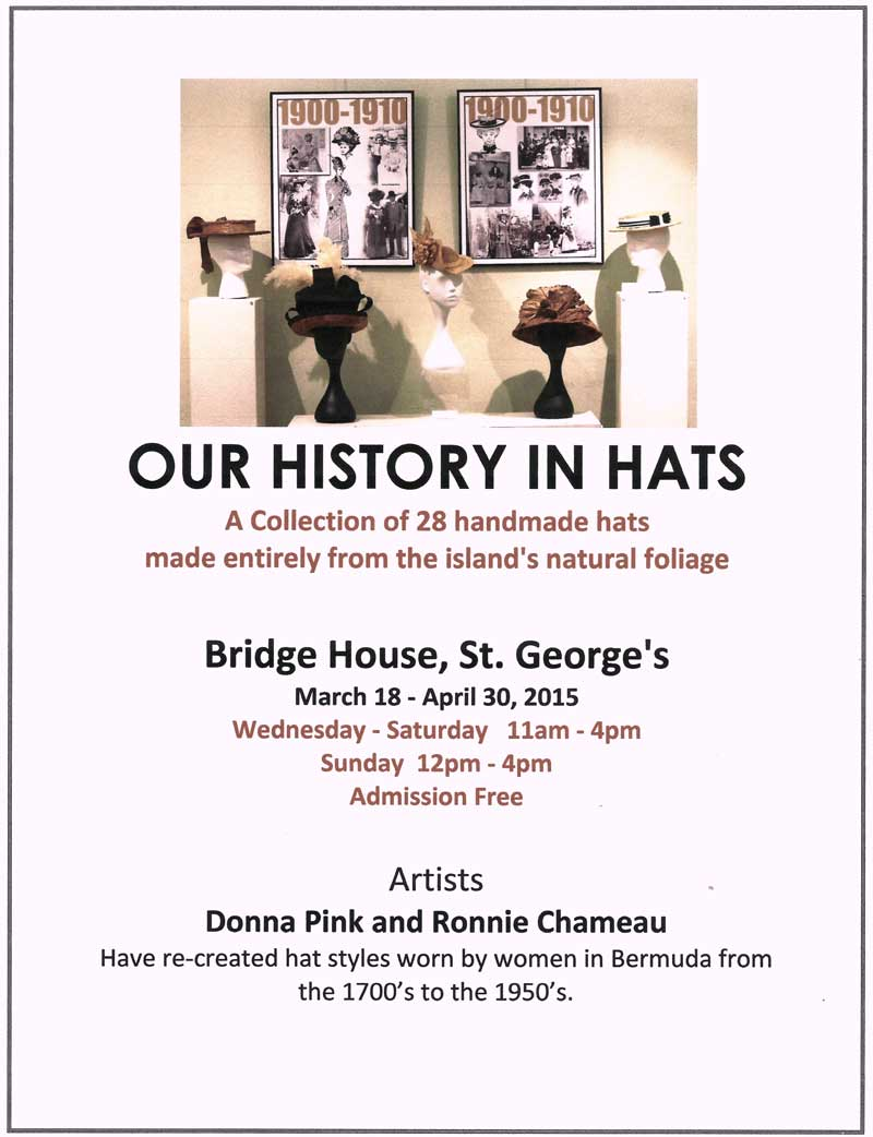 Poster Our History In Hats