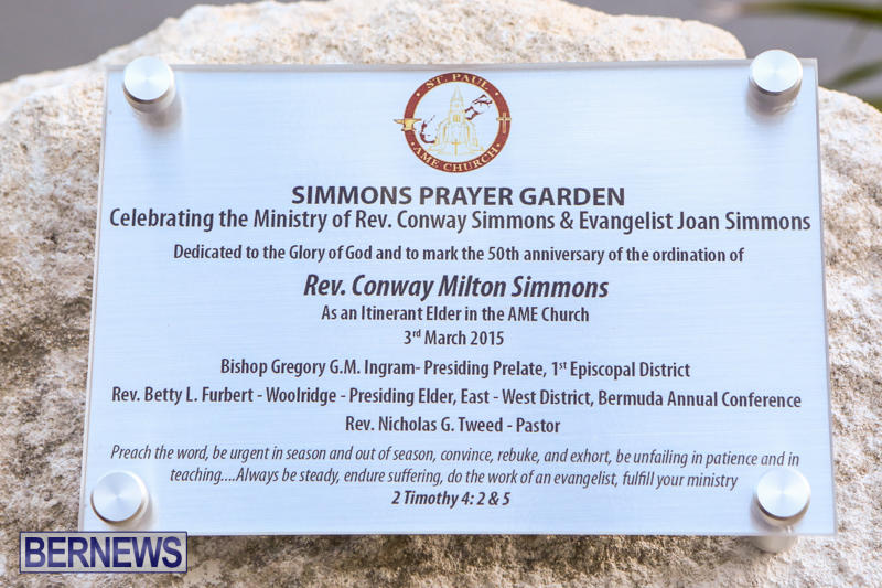 Rev-Conway-Simmons-AME-Prayer-Garden-Dedication-Bermuda-February-28-2015-19