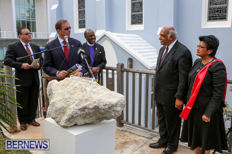 Rev-Conway-Simmons-AME-Prayer-Garden-Dedication-Bermuda-February-28-2015-8