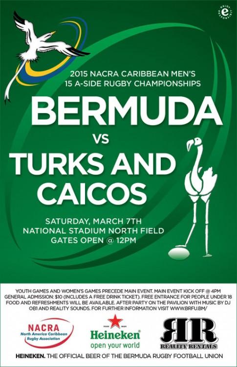 bermuda vs turks and caicos 1 mar 2015 poster
