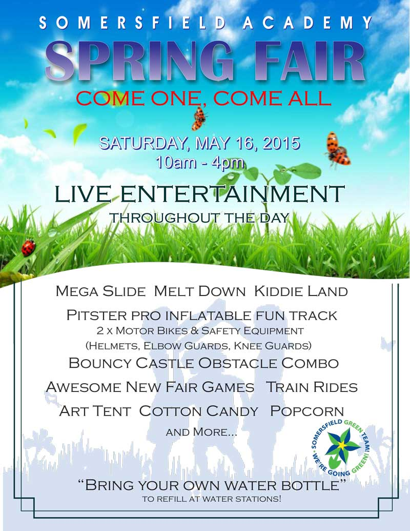 2015 Spring Fair Poster
