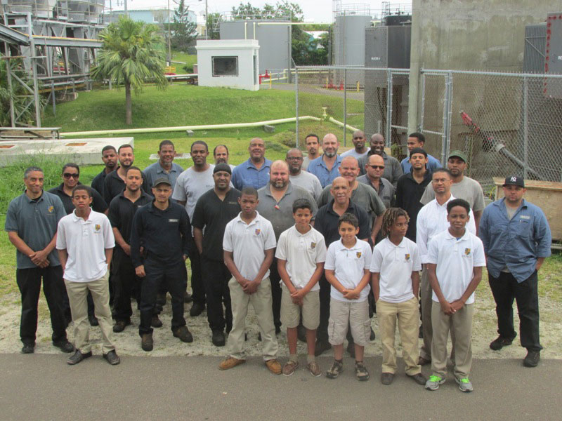 BELCO Mechanical Maintenance Group Donate to Impact Mentoring Academy(copy)