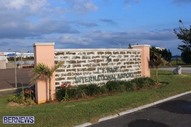 Bermuda LF Wade International Airport sign generic (3)