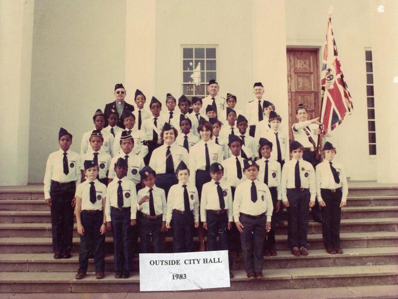 Boys Brigade in Bermuda 3