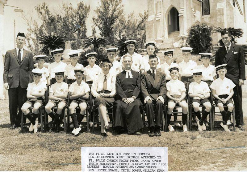 Boys Brigade in Bermuda