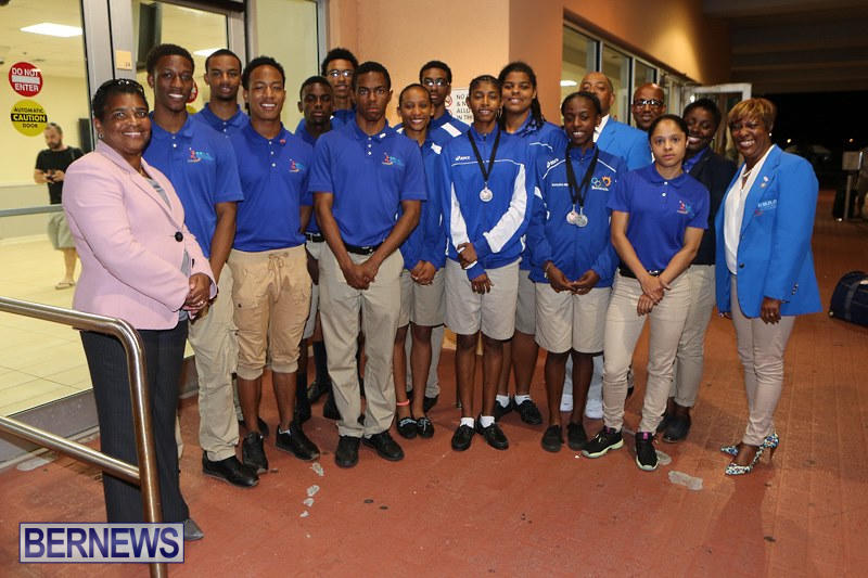 CARIFTA Track & Field Team Bermuda, April 9 2015-1