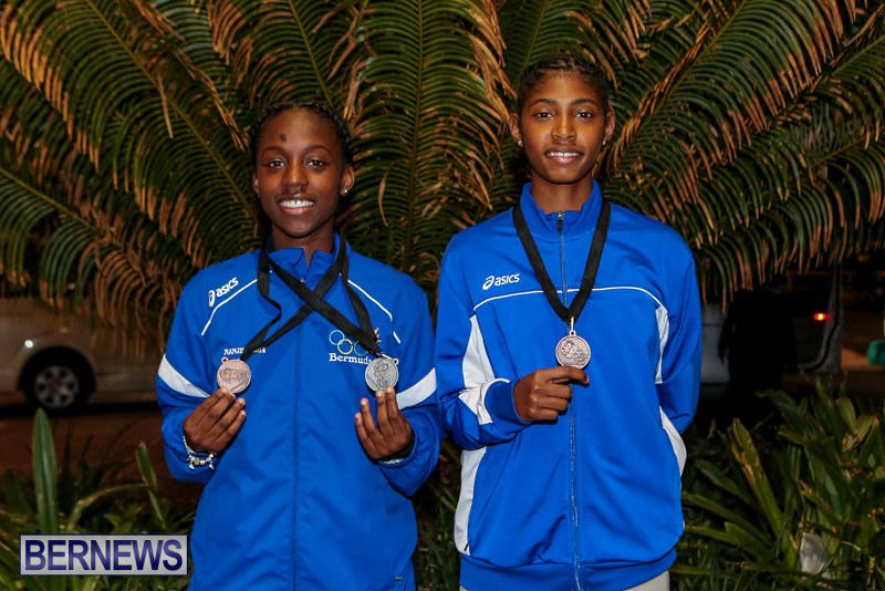 CARIFTA Track & Field Team Bermuda, April 9 2015-2