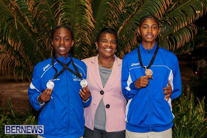 CARIFTA Track & Field Team Bermuda, April 9 2015-3
