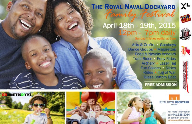 Family Festival Tabloid Poster