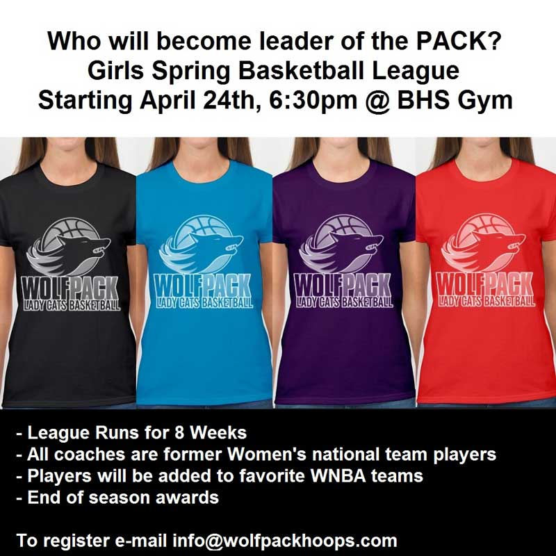 LadyCats Spring League