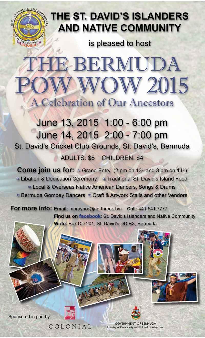 PowWow flyer 2015