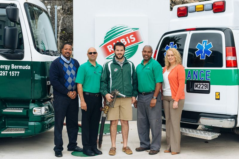 RUBiS Donates Fuel to St. John's Ambulance Association