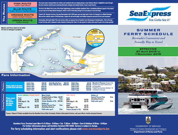 Summer Ferry Schedule01