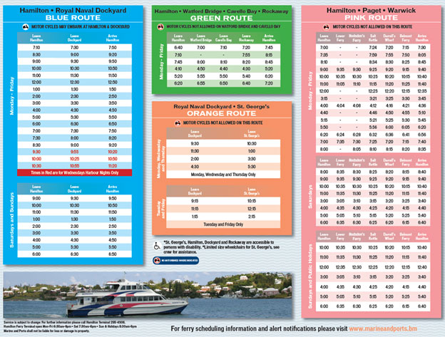 Summer Ferry Schedule02