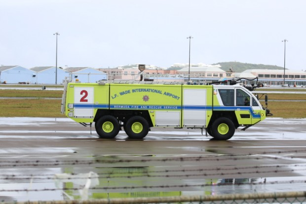 fire service at airport