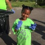 09 West Pembroke student ready in gloves