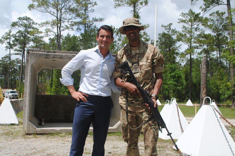 7 - Corporal Kenton Trott - who celebrated his 30th birthday