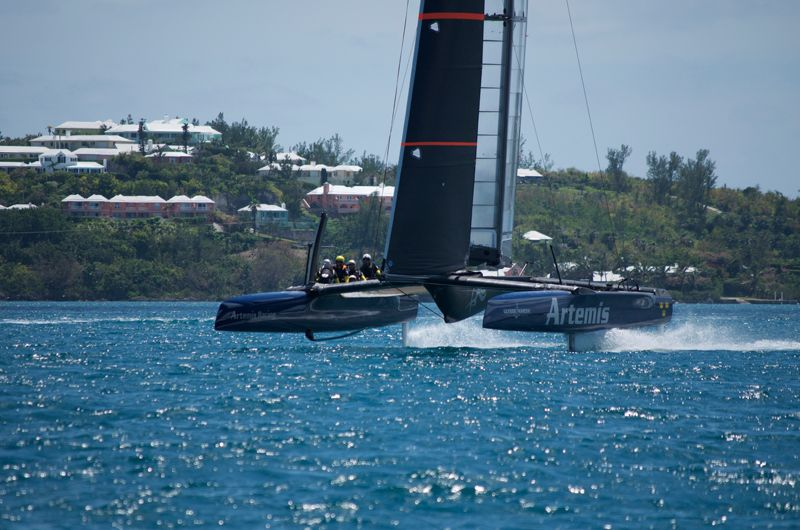 Artemis Racing Touch Down In Bermuda 1