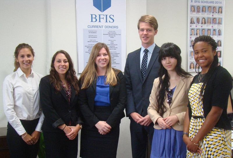 BFIS Bermuda interns