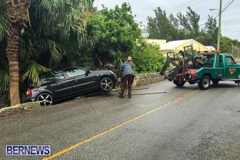 Car Accident Bermuda, May 8 2015-1