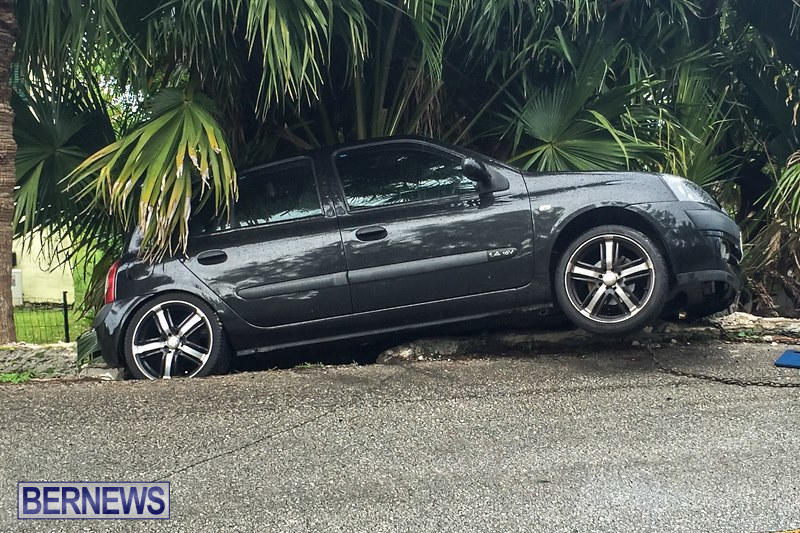 Car Accident Bermuda, May 8 2015-2