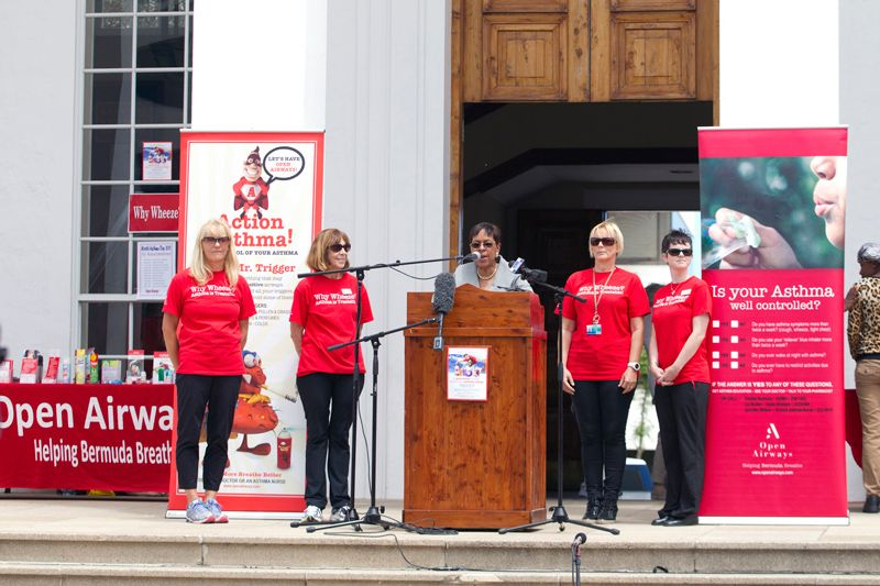 Minister Jeanne Atherden At World Asthma Day 2015 (2)