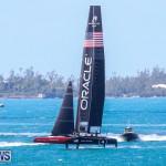 Oracle Team USA Sail AC45S Bermuda, May 3 2015-6