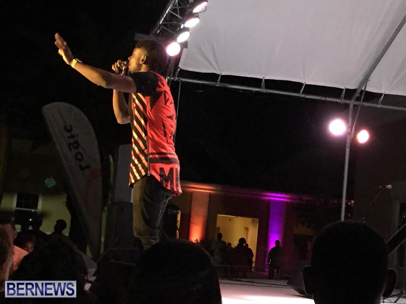 Reggae Chris Martin perform  Bermuda Caribbean Music Festival 2015 May (1)