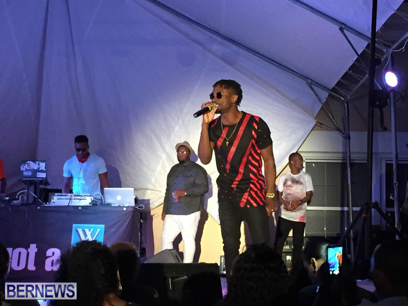 Reggae Chris Martin perform  Bermuda Caribbean Music Festival 2015 May (3)