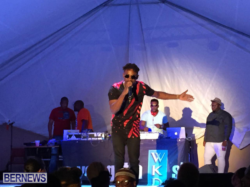 Reggae Chris Martin perform  Bermuda Caribbean Music Festival 2015 May (4)