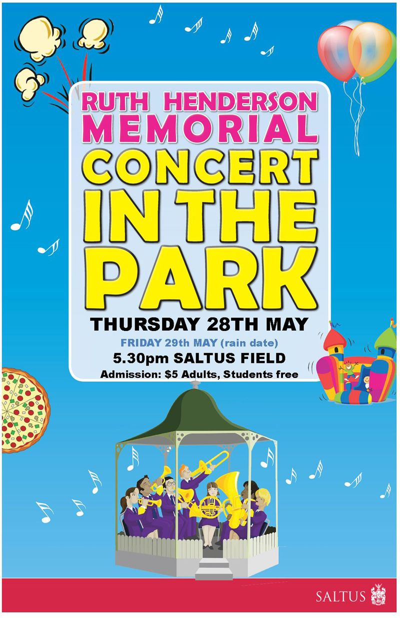 Saltus Grammar School presents the Ruth Henderson Memorial Concert-NewVenue