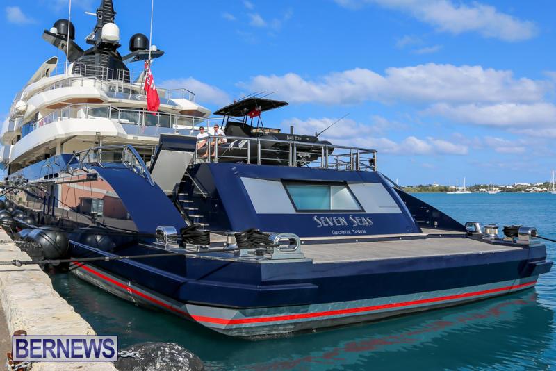 Photos 200 Million Super Yacht In Bermuda Bernews