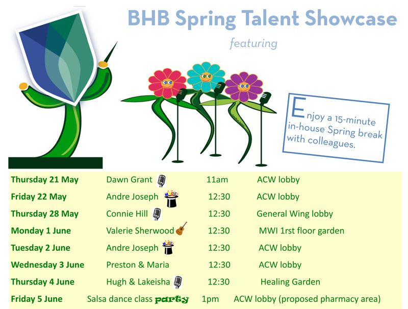 Spring Talent Showcase