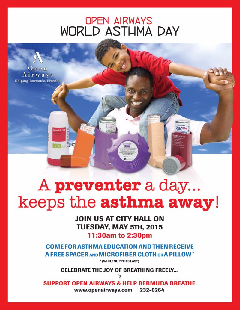 WAD world asthma day poster